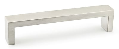 Richelieu Contemporary Stainless Steel 5 1/32 Center Bar Pull; Stainless Steel