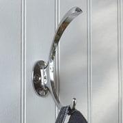 Richelieu Contemporary Metal Wall Hook; Chrome