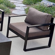 Real Flame Baltic Chair w/ Cushion (Set of 2)