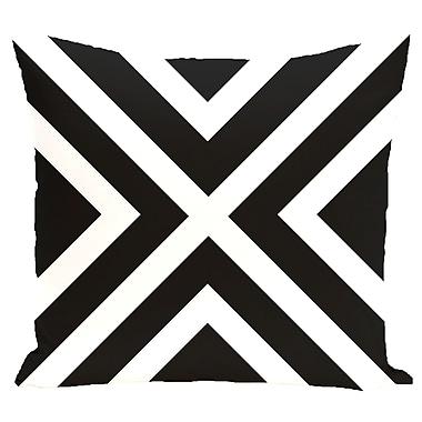 e by design Stripe Decorative Pillow; 18'' H x 18'' W x 2'' D