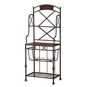 Gracie Oaks Callimont Storage Baker's Rack