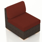 Harmonia Living Arden Middle Section Chair w/ Cushion; Canvas Henna