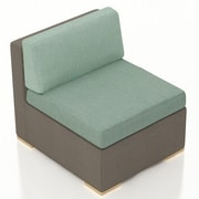 Harmonia Living Element Middle Section Chair w/ Cushion; Canvas Spa