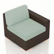 Harmonia Living Arden Right Arm Section Chair w/ Cushion; Canvas Spa