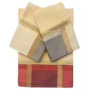 Daniels Bath Decorative 3 Piece Towel Set