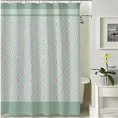 BHPNY Terrlis Shower Curtain; Teal