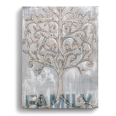 DEMDACO 'Family Tree' Graphic Art on Wrapped Canvas
