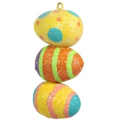 Dekorasyon Stacked Easter Eggs Ornament (Set of 2)