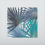 Pictures and Mirrors 'Organic Blue I' Framed Print of Painting