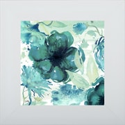 Pictures and Mirrors 'Florals in the Wind I' Framed Print of Painting