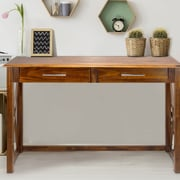 Casual Home Bay View Console Table; Warm Brown