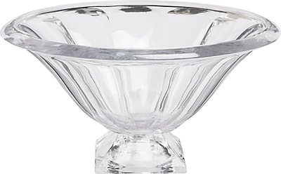 Circle Glass Footed Serving Bowl WYF078279979547