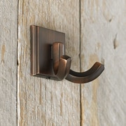 Richelieu Transitional Metal Wall Hook; Brushed Oil-Rubbed Bronze