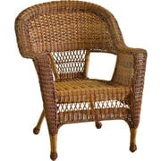 Jeco Inc. Wicker Chair; Honey