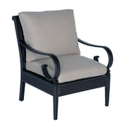 Meadow Decor Roma Club Chair w/ Cushions; B Grade