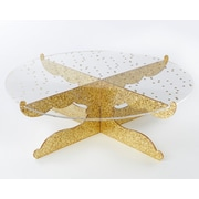 Kate Aspen Party Time Glitter Cake Stand