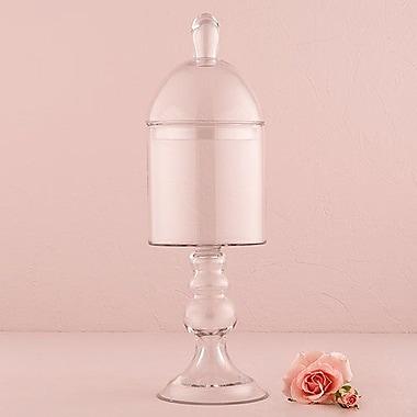 Weddingstar Pedestaled Apothecary Jar w/ Straight Sided Bowl