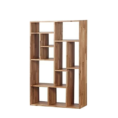 Union Rustic Blevens 55'' Cube Unit Bookcase; Natural