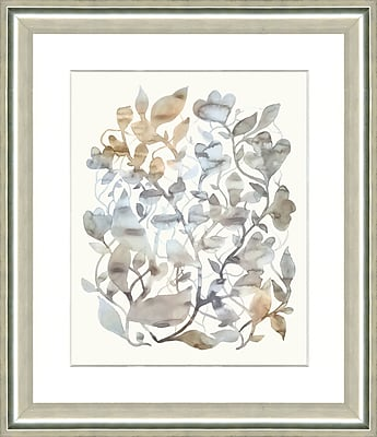 Smith & Co. Watercolor Flowers I Framed Giclee Print; 28'' H x 24'' W