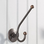 Richelieu Classic Metal Wall Hook; Oil-Rubbed Bronze