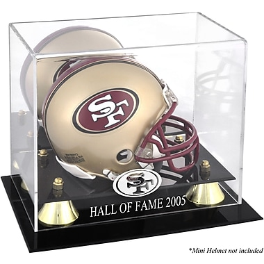 Mounted Memories NFL Hall of Fame Classic Logo Mini Helmet Display Case
