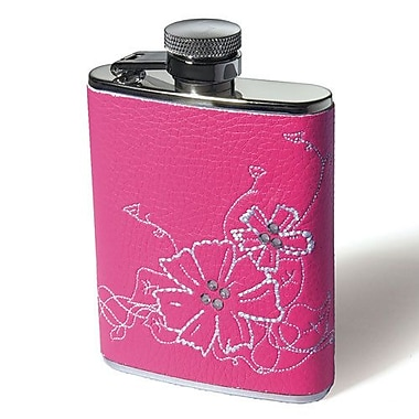 Weddingstar Floral Hip Flask