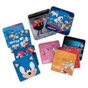 Vandor Sonic the Hedgehog 10 Piece Coaster Set