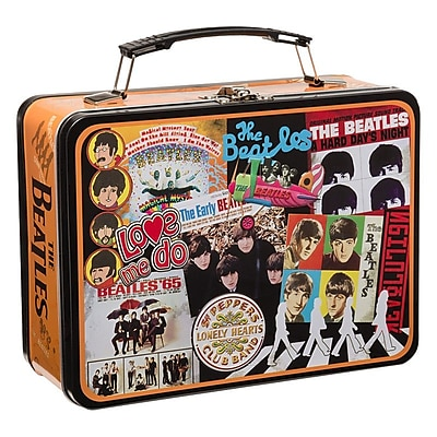 Vandor The Beatles Albums Tin Tote