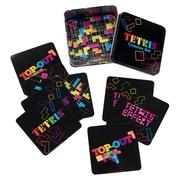 Vandor Tetris 10 Piece Coaster Set w/ Tin Storage Box