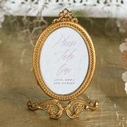 Weddingstar Small Oval Baroque Picture Frame