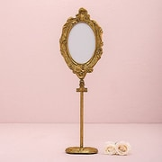 Weddingstar Oval Baroque Standing Picture Frame; Frame as Is