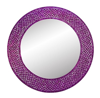 DecorShore Trend Shimmering Mermaid Glass Mosaic Tile
