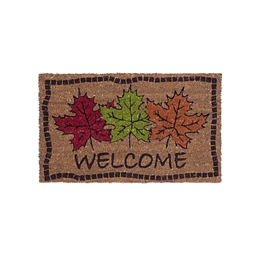 Coco Mats N More Autumn Maple Leaves Doormat