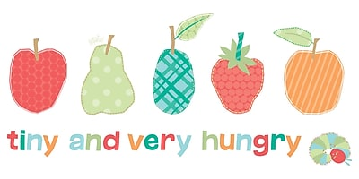 Marmont Hill 'Tiny And Very Hungry Caterpillar' by Eric Carle Painting Print on Wrapped Canvas