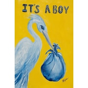 The Cranford Group It's a Boy Garden Flag
