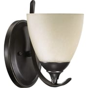 Home Concept Powell 1-Light Armed Sconces; Old World