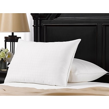 Ella Jayne Home Exquisite Hotel Memory Foam Fiber Pillow (Set of 2); King