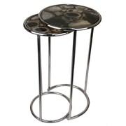 Jodhpuri Agate Round 2 Piece Nesting Table