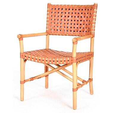Kenian New Classics Malibu Arm Chair; Natural