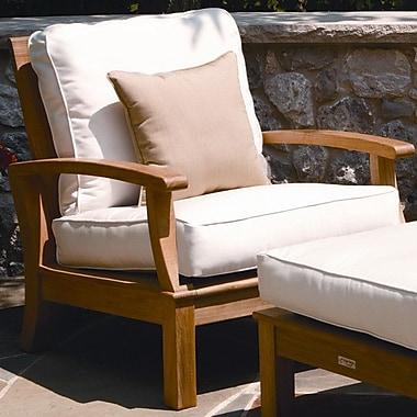 Three Birds Casual Monterey Deep Seating Arm Chair; Fern