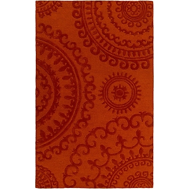 Artistic Weavers Pollack Sloane Handmade Orange Area Rug; 5' x 8'