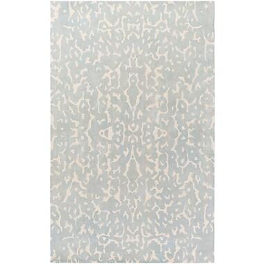 Artistic Weavers Geology Addison Hand-Tufted Light Gray Area Rug; 4' x 6'