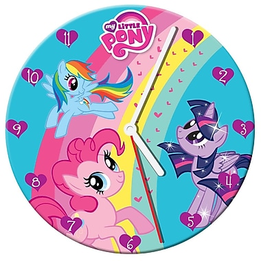 Vandor 13.5'' My Little Pony Cordless Wall Clock