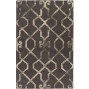 Artistic Weavers Organic Amanda Hand-Tufted Charcoal/Beige Area Rug; 5' x 8'