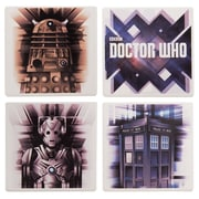 Vandor Doctor Who 4 Piece Coaster Set