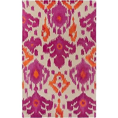 Artistic Weavers Geology Skylar Hand-Tufted Pink/Orange Area Rug; 5' x 8'