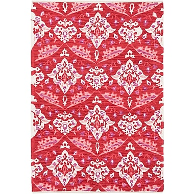 Artistic Weavers Elaine Wyatt Hand-Woven Red Area Rug; 4' x 6'
