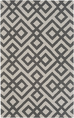 Artistic Weavers Impression Poppy Hand-Tufted Gray Area Rug; 5' x 8'