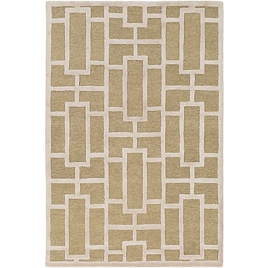 Artistic Weavers Arise Addison Hand-Tufted Tan Area Rug; Rectangle 4' x 6'
