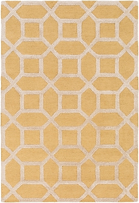 Artistic Weavers Arise Evie Hand- Woven Yellow Area Rug; Rectangle 9' x 13'